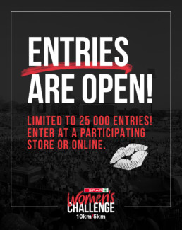 entries are open for the SPAR Women's Challenge Tshwane